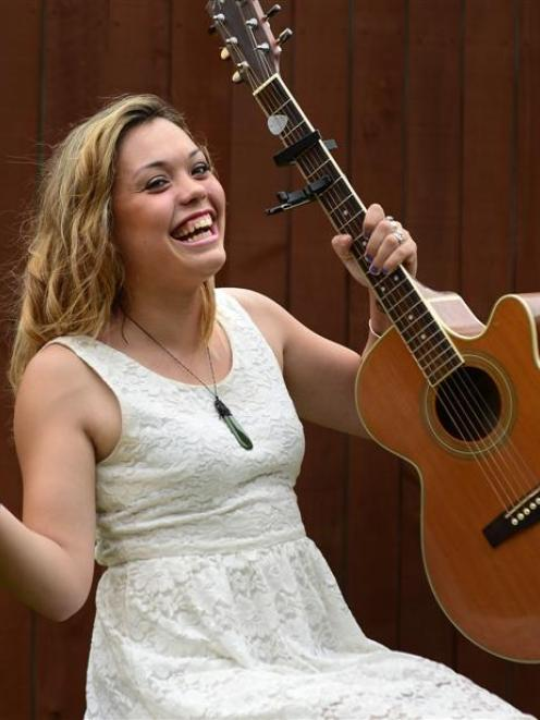 Kylie Price back home last night, after winning the Tamworth Country Music Awards. Photo by Peter...