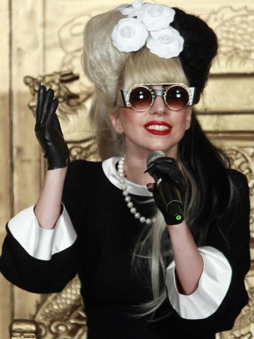 Lady Gaga. Photo Reuters
