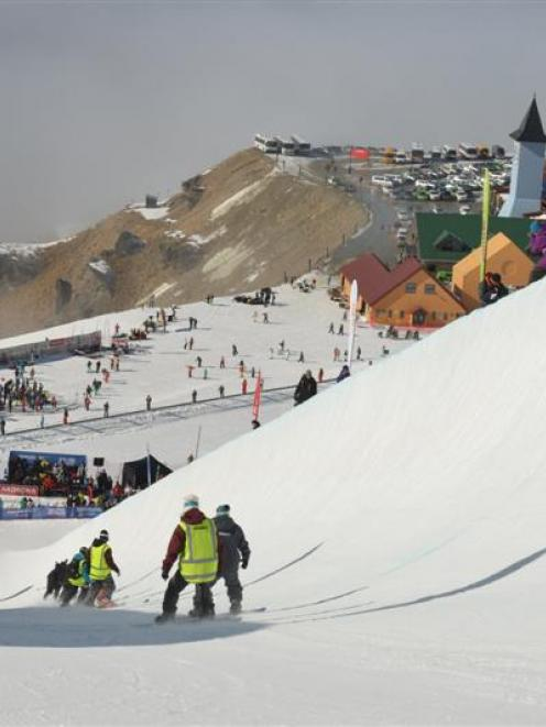 Lake Wanaka Tourism general manager James Helmore says Cardrona Ski Area is a 'proven performer'...
