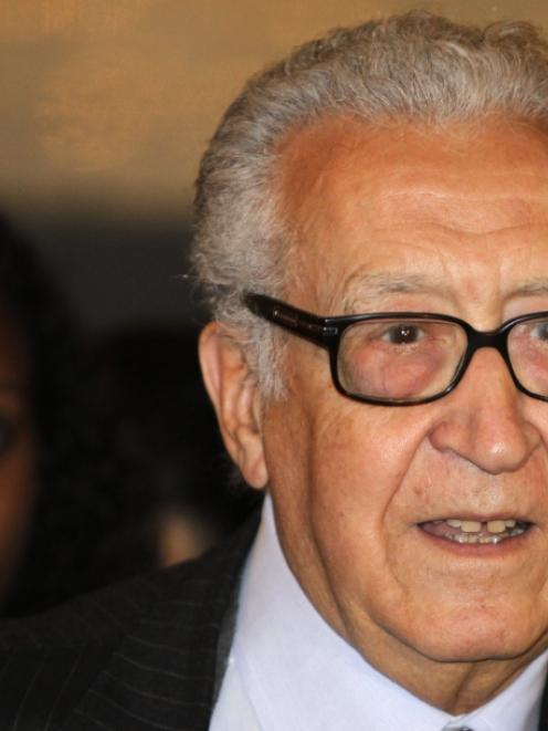Lakhdar Brahimi. Photo by Reuters