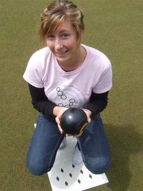 Lanah Craik aims to represent New Zealand in lawn bowls. Photo by Sally Rae.