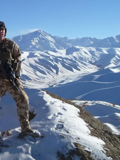 Lance-corporal Kane Ritchie, of Dunedin, is part of the New Zealand Defence Force's Operation...
