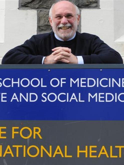 Leading US vaccine researcher Prof Myron  Levine is visiting the University of Otago, its Dunedin...