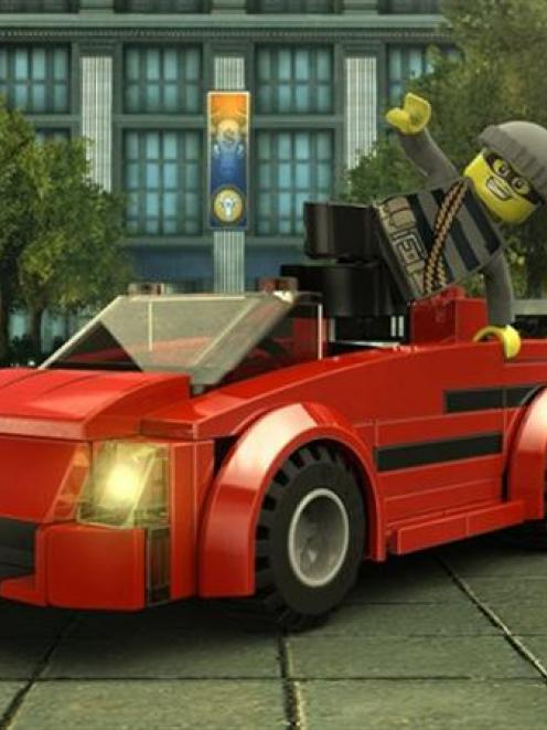 Lego City Undercover: Undercover cop action with Chase McCain ...