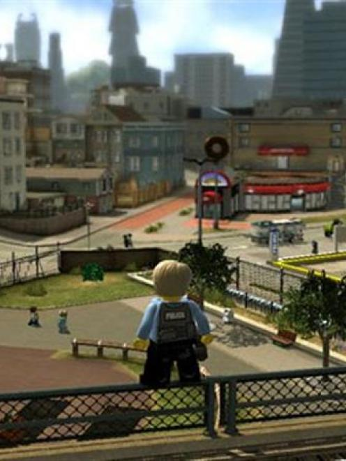 Lego City Undercover: Undercover cop action with Chase McCain