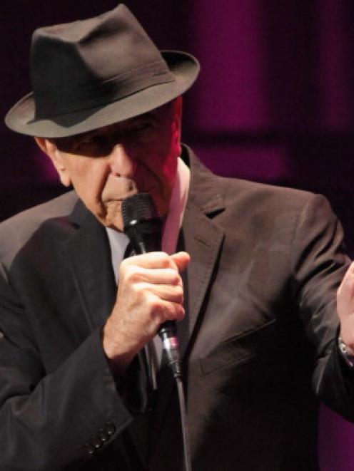 Leonard Cohen. Photo Getty