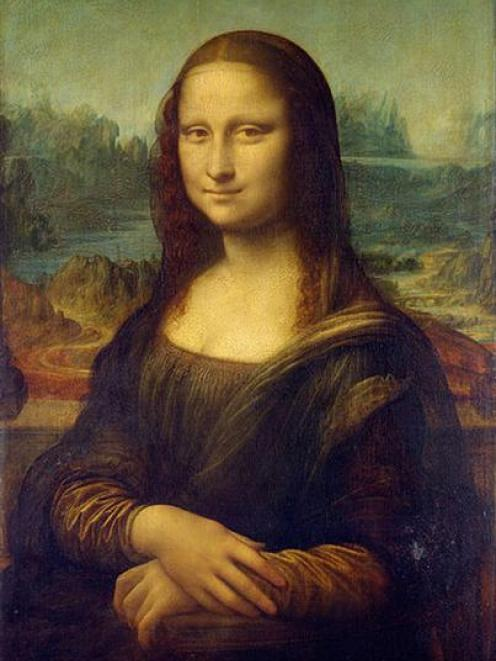 Leonardo da Vinci's Mona Lisa. Photos supplied.