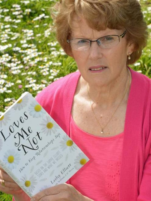 Lesley Elliott says it upsets her to think that girls are in unhealthy relationships. Photo by...