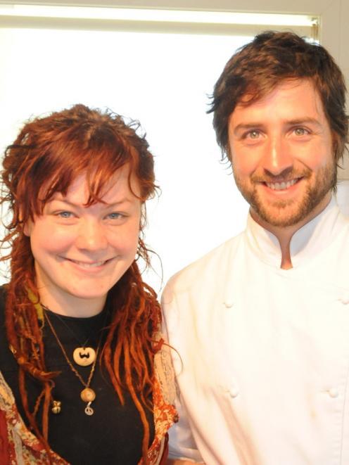 Lisa Nyman-Ambrose and Carlos Riegelhaupt.