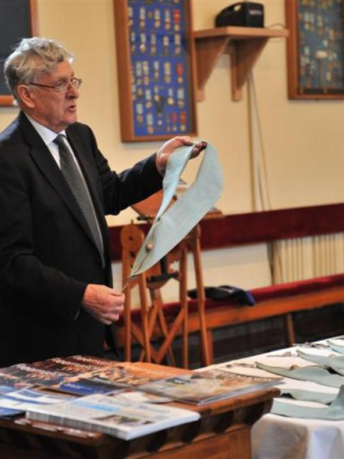 Lodge No. 84 grand director of ceremonies Alister Church explains the Freemason ranks of office....