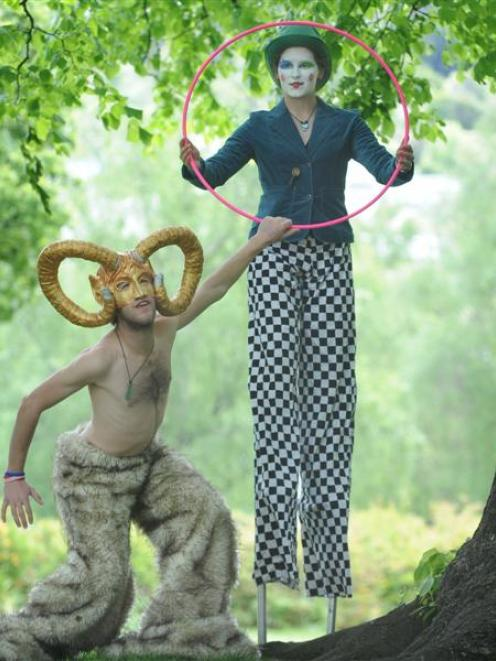 Logan Elliott and Adele Cleverley want to share the world of circus art with everyone through the...