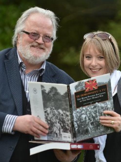 Logan Park High School history teacher Paul Enright and his former pupil, Queen's Park High...
