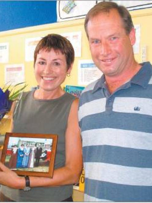 Long haul: Aileen Ryan celebrates her 30 years of teaching new entrants at Waikaka School, with...