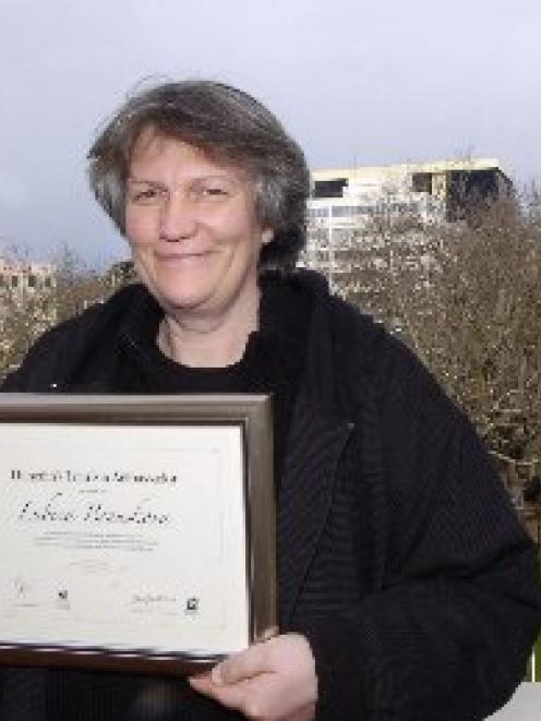 "Lubica Benuskova, of Dunedin, who has been named ""Dunedin's Best Ambassador"" in Tourism Dunedin's..."