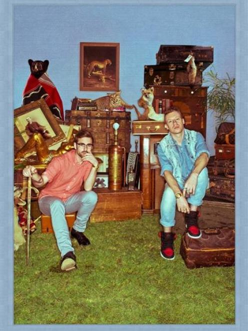 Macklemore (right) and Ryan Lewis. Photo supplied.