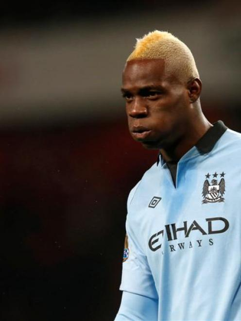 Manchester City's Mario Balotelli has signed with AC Milan.   REUTERS/Eddie Keogh