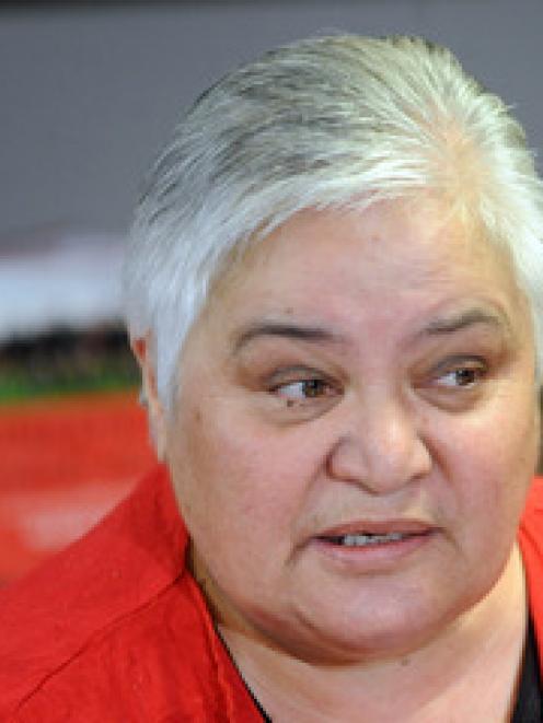Maori Party co-leader Tariana Turia