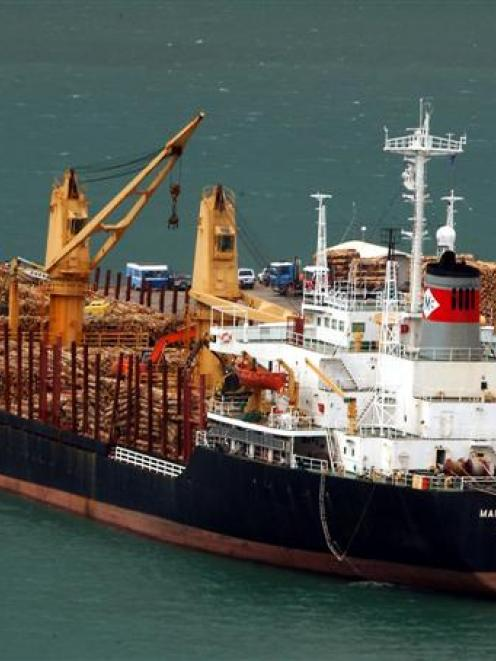 Maritime Friendship (pictured) was detained at Port Chalmers in November 2003 when deck cargo...