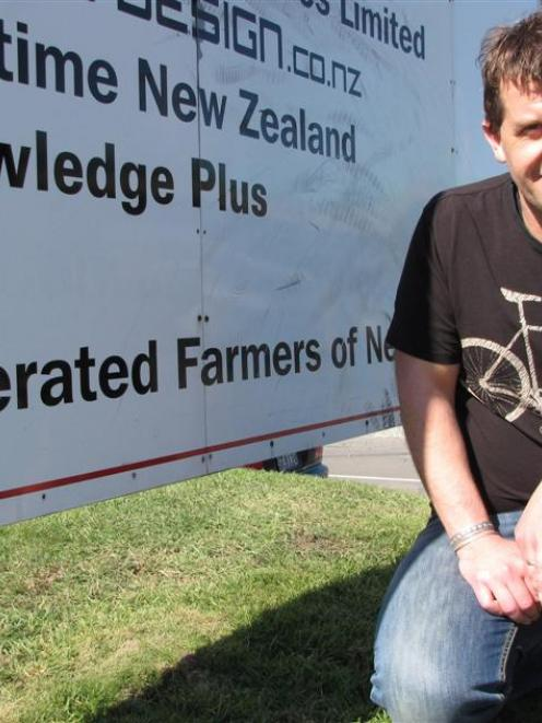 Matt Harcombe, who reckons it is a privilege to work lobbying for the needs of farmers. Photo by...