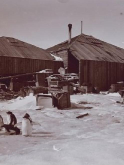 Mawson's Hut, the Antarctic. Photo: National Library of Australia