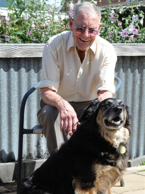 Max and Joe O'Brien met at the SPCA five years ago and the pair, who take twice-daily walks...