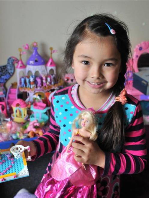Maya Satake's love of Barbie dolls and Lego will come in handy for her new role as a toy-tester....