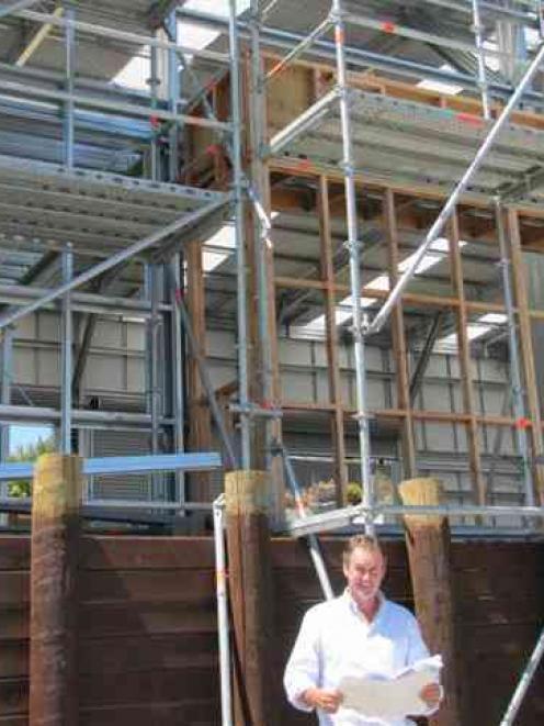McLellan Plumbing and Heating Founding director Rory McLellan says the new warehouse in Deel St,...