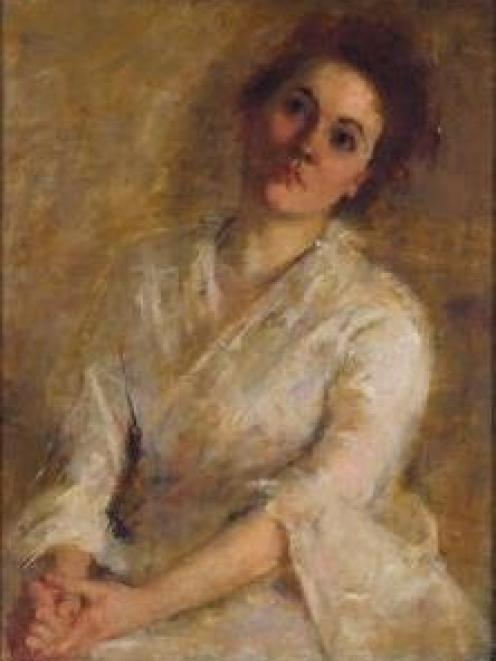 Memories: Portrait of Kate Morrison, painted by Grace Joel in the 1890s and held by the Dunedin...