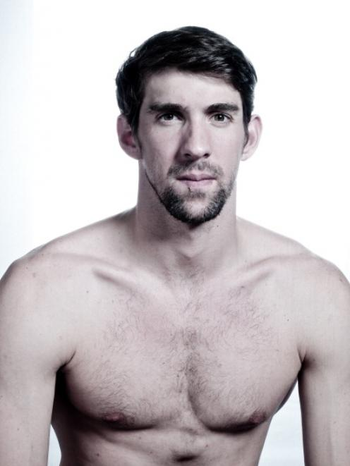 Michael Phelps. Photo by Getty
