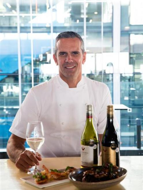 Michelin-star chef Josh Emett has created a new business, Master Match,  matching food with wine...