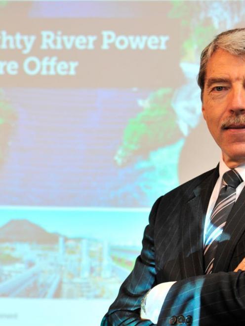 Mighty River Power CEO Doug Heffernan. Photo by Linda Robertson.