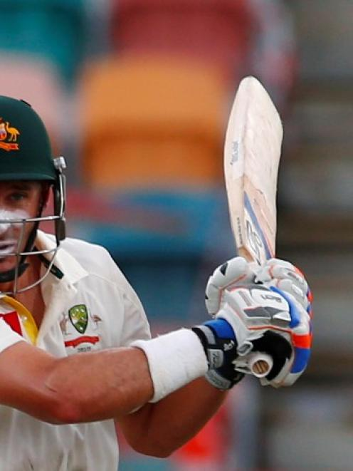 Mike Hussey. Photo Reuters