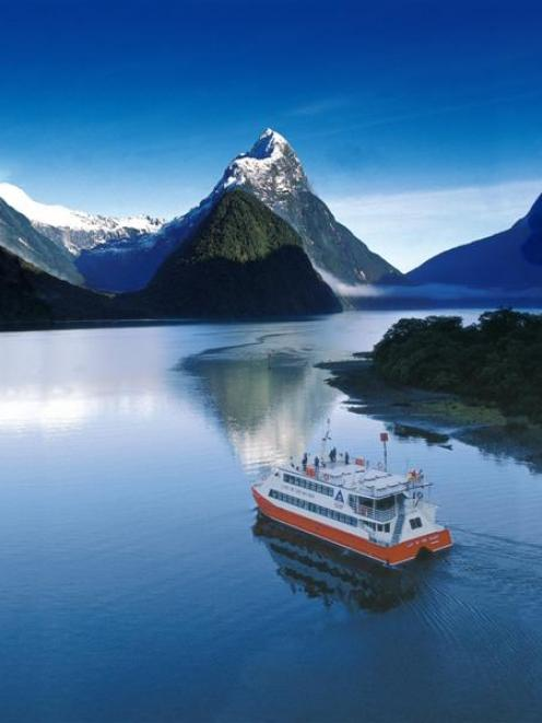 Milford new queenstown sound zealand all became