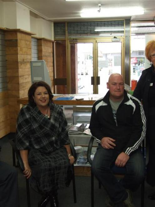 Minister for Social Development, Employment and Youth Paula Bennett met youth workers in...