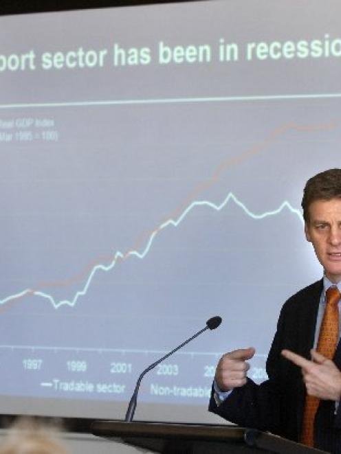 Minister of Finance Bill English outlines concerns over Government borrowing to sustain...