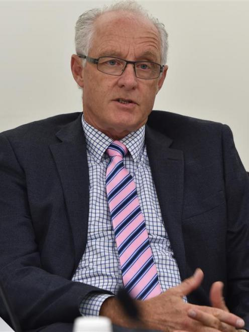 Ministry of Justice general manager commercial and property Fraser Gibbs discusses future work on...