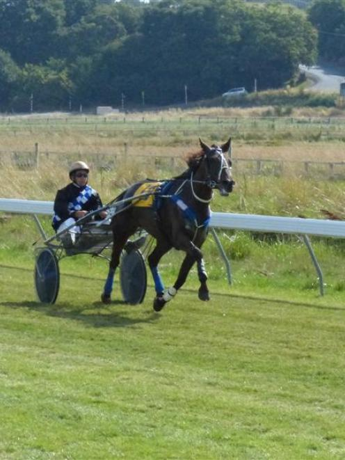 Monnay winning at Waikouaiti earlier this month. His win at Wyndham on Saturday takes his record...