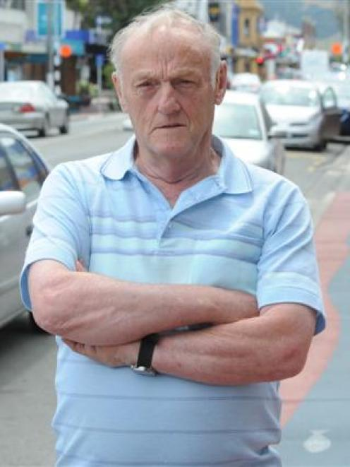 Mosgiel resident Bill Bennett says it is just a matter of time before a pedestrian is injured by...