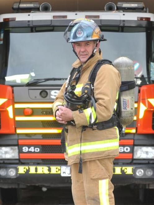 Mosgiel veteran firefighter Richard Yardley (63) reflects on the recent Sky Tower Stair Challenge...