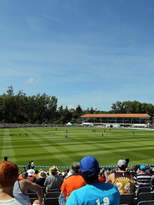 Most of New Zealand's matches this year have been played under sunny skies, but the forecast is...