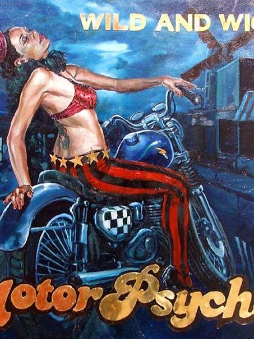 Motor Psycho, by Matt Gauldie.