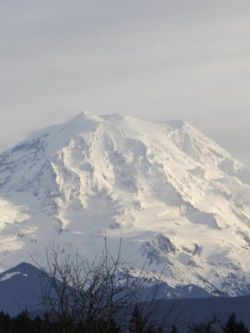 Mount Rainier. Photo Reuters