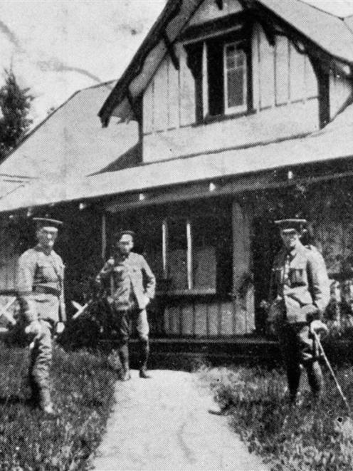 Mrs Edmond's home at  Waikouaiti for invalided soldiers. — Otago Witness, 5.1.1916.