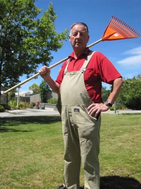 Mt Aspiring College caretaker Ronnie Moffat, of Wanaka, hopes $102 million of holiday pay is not...