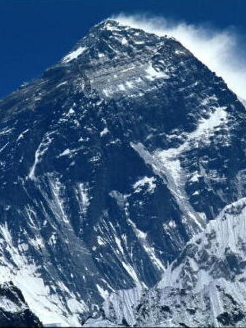 Mt Everest. Photo Getty