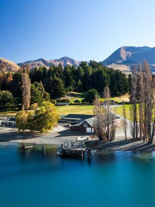 Mt Nicholas High Country Station, on the western shore of Lake Wakatipu, is the base for Southern...