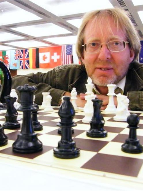 Murray Chandler, New Zealand's most successful chess player, is the promoter of the 2009...