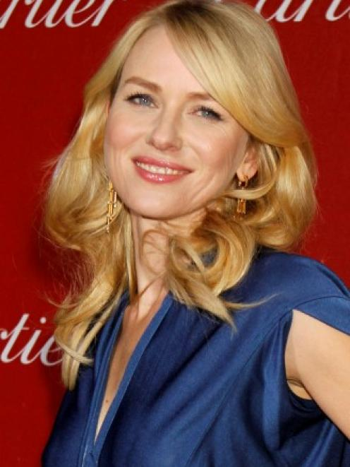 Naomi Watts arrives at the 24th Annual Palm Springs International Film Festival Gala in Palm...