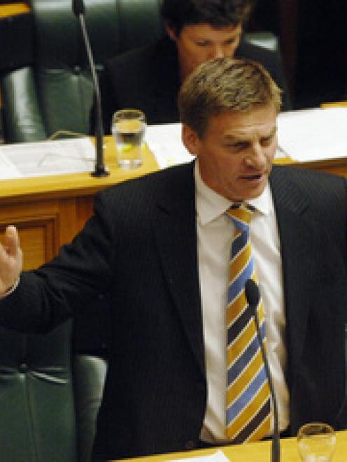 National MP Bill English