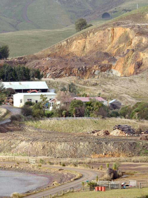 Neighbours are fighting plans to expand a quarry overlooking Papanui Inlet, after it was found to...